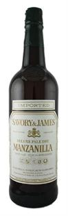 Savory & James Sherry Manzanilla 750ml - Case of 6